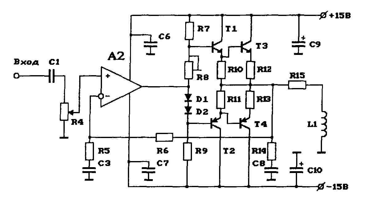 Схема Электрошокер Кобра
