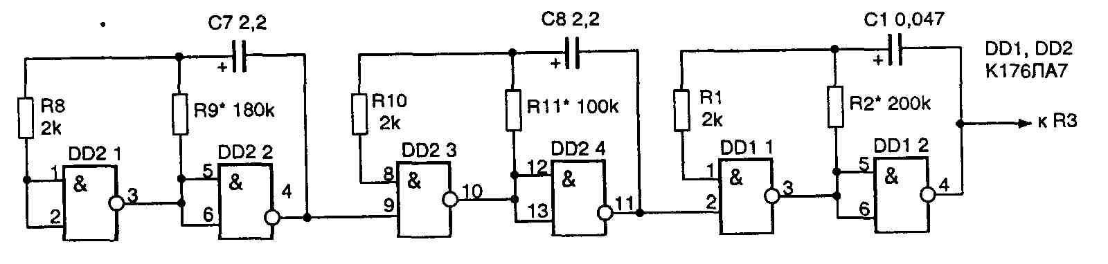 Электрические принципиальные схемы схемы электрические и схемы низкочастотные генераторы низкочастотные схемы...